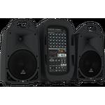 BEHRINGER PPA2000BT 8-канальная система звукоусиления 2000 Вт, микшер, усилитель, акустика, микрофон, кабели, Bluetooth